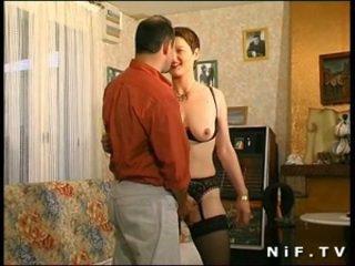 kwaliteit frans tube, controleren milfs scène, anaal