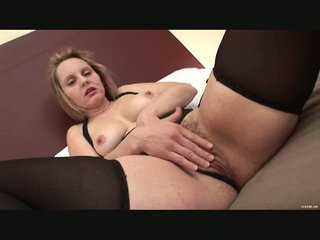 Hiary milf gets fucked hard by big black cock.