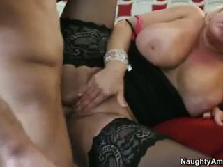 Alexis Golden Milf Ravished Hard By Boy's Long Cock