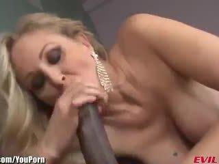 EvilAngel MILF Julia Ann Takes 12 Inches of Big Black Cock