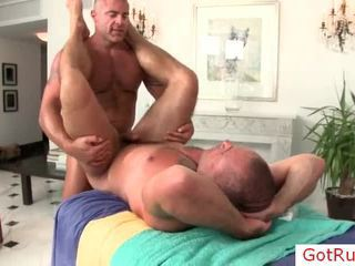 Large Chap Gets Incredible Ass Massage