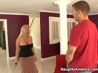 Giant Tittie Aged Holly Halston Gets Ram Pecker