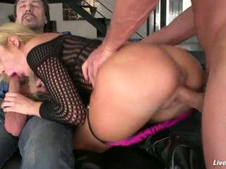 Livegonzo amy brooke sexy double anal penetration