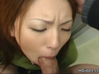 Tomoe hinatsu è il sesso giocattolo per suo grande