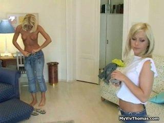 hardcore sex, lezbični seks, vroča blondinka mlada dekleta