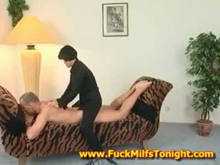 Horny Milf From China LIkes Having Sex On Couch