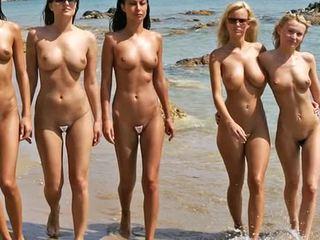 裸体 海滩 时尚 节目 2