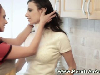 Classy Lezzy In Pair Mouthjobing Clam For Each Other