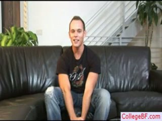 Devin Receives An Interview Previous To Sex By Collegebf