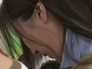 Drovus jaunas moteris apgraibytas ir used į a crowded traukinys