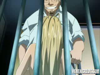 Buộc manga blondie gives đầu