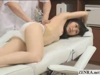 japanse, olie seks, groot exotisch porno