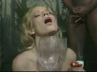 Sperm Drinking Video
