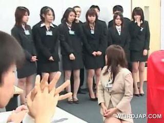 Asiática sexo seminar con adolescente chicas giving bjs
