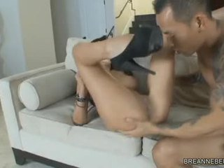 BreAnne Benson Honey Acquire A Hard Cock Humped On Bed