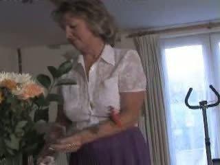 masturbate, pussy play, granny