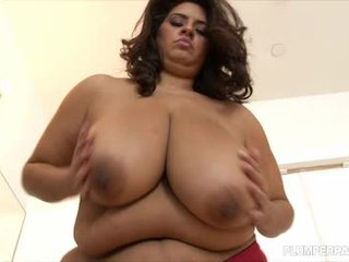 Chunky superstar sofia rose screws 2 massiv dongs