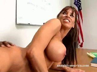 Big Titty Milf Devon MiChaels Receives A Hot Load Of Yogurt On That Guyr Mouth