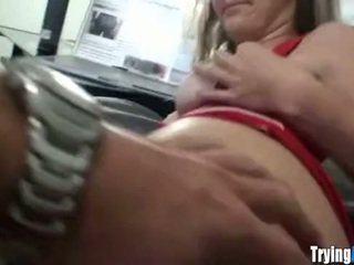 Horny Anal Virg gets Butt Fingered - TryingAnal.com