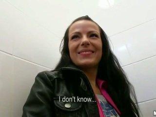 meer brunette porno, groot realiteit klem, plezier hardcore sex porno
