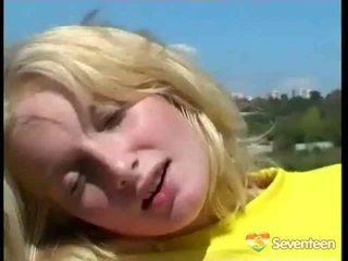blondjes porno, speelgoed, nominale seks in de buitenlucht vid