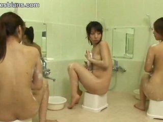 lesbienne, l'adolescence, asiatique