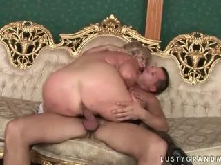Big ass grannies go on a cock rodeo