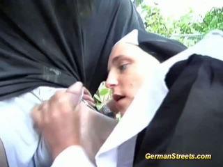 uniform, nun, hardcore