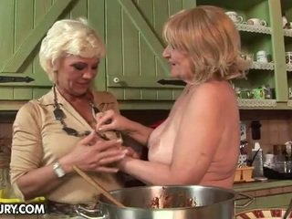 Orchidea And Sally Like To Shop And Cook Together. And Once...