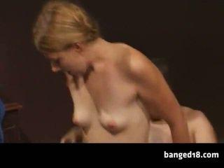 tiener sex actie, groot close-up film, nieuw tieners vid