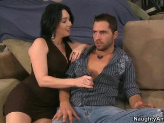 brunette, nominale wit, hq pijpbeurt porno
