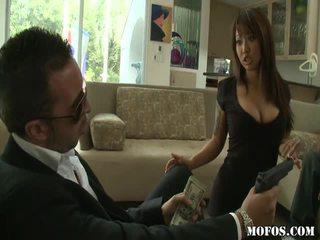 Asia porno female tastes the thing