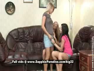 beste kindje, groot lesbisch, controleren drietal