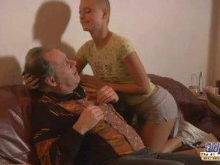 Teasing ηλικιωμένων guy για γαμώ