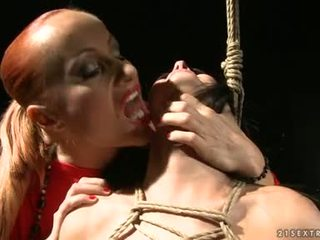 Katy Borman Torment A Hot Honey With Rope On Body