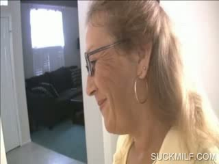Mutter und schnecke lutschen ein dong