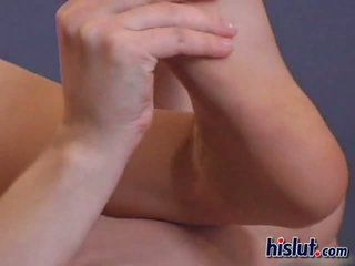 Justine goes solo and does some kinky flexible acrobatics