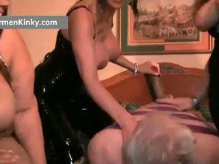 เซ็กส์แปลกๆ carmen และ two มหาศาล ทารก ได้รับ
