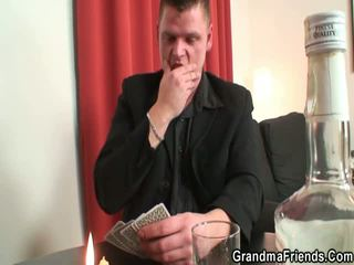Strip Poker Leads To Huge Three Some