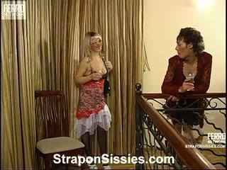 Irene And Jack Malewhore Videotaped During The Time This Straponfucked