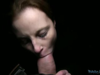 brunette, reality, oral sex, blowjob
