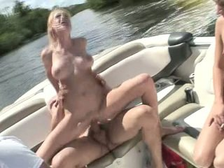Allison Pierce Love The Peak Cumload During The Time That Having Fun Inside Boat