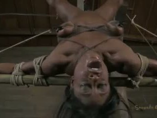 Sexually Broken: Three hot babes getting fucked in bondage.