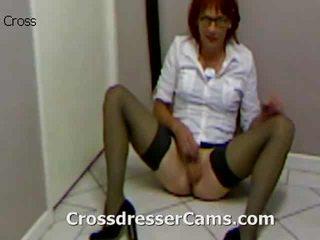 crossdresser cea mai tare, distracție cur gratis, toate travestiuri frumos