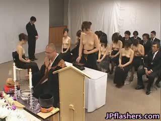 japānas, grupu sekss, big boobs, interracial
