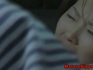 Mature Asian Couple Fuck In The Car