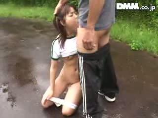 suck, japanese, schoolgirl, forced