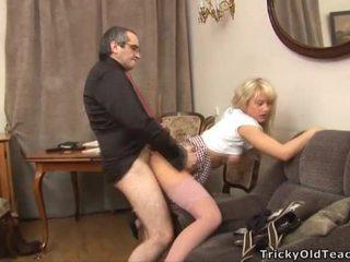 جنس lesson مع أقرن معلم