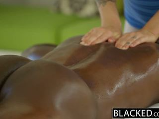 full big dick, fun masseuse, check doggystyle all