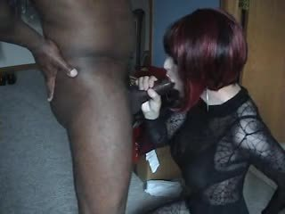 crossdresser fresh, fun blowjob you, watch cumshot